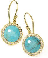 Ippolita Diamond & Turquoise Lollipop Earrings