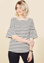 ModCloth Madame Museum Top in M
