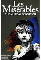 Les Miserables Poster (Broadway) (11 x 17 Inches - 28cm x 44cm) (1987) Style A -(Patrick A'Hearn)(Cindy Benson)(Jane Bodle)(David Bryant)(Leo Burmester)