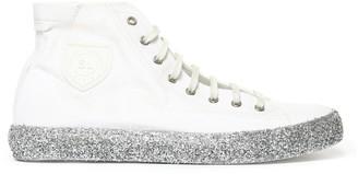 Saint Laurent Glitter High Top Sneakers