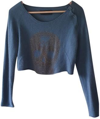 Zadig & Voltaire Blue Cashmere Knitwear