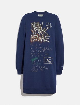 Coach X Jean-Michel Basquiat Sweatshirt Dress