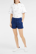 Paul & Joe Sister Pleated Cotton-Blend Shorts