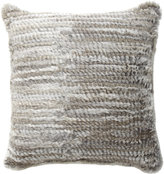 Barneys New York Goma Knit Pillow