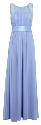 Dorothy Perkins Womens Showcase Bridesmaid Blue 'Natalie' Maxi Dress, Blue