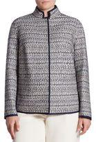 Lafayette 148 New York, Plus Size Branson Tweed Jacket