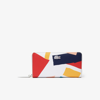 Lacoste Women's L.12.12 Coloured Design Zippered Wallet