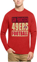 '47 Men's San Francisco 49ers Compton Club Long-Sleeve T-Shirt