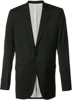 Thamanyah dislocated shoulder blazer - men - Wool - 46