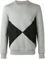 Burberry diamond print sweatshirt