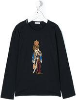 Dolce & Gabbana lion king appliqué top
