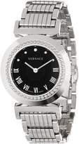 Versace Women's P5Q99D009 S099 Vanity Stainless Steel Sunray Dial Watch