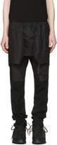Julius Black Layered Trousers