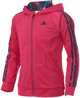 adidas Hooded Activewear Jacket, Little Girls