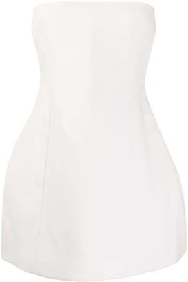 KHAITE Strapless Mini Dress