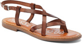 Musse & Cloud Women's Sandals BRW - Brown Strappy Iron Leather Sandal - Women