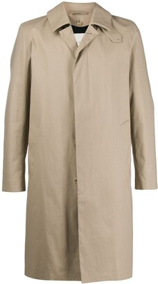 MACKINTOSH DUNKELD Fawn Rainproof Cotton 3/4 Coat|GM-1001FD