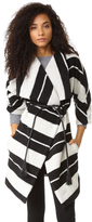 BB Dakota Kendall Striped Coat