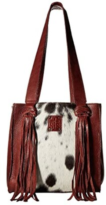 STS Ranchwear Delilah Shopper (Cowhide/Brown Leather) Handbags