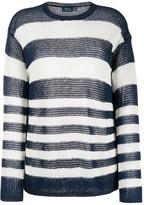 Polo Ralph Lauren striped loose-fit jumper
