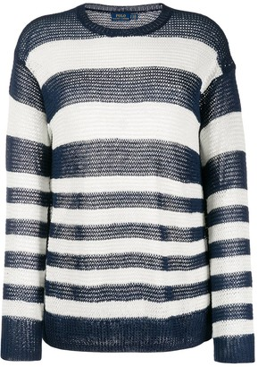 Polo Ralph Lauren Striped Loose-Fit Jumper