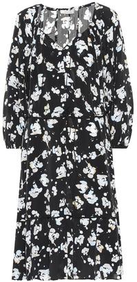 Schumacher Dorothee Artistic Blossoms silk-blend dress