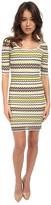 M Missoni Pebble Stripe 3/4 Dress