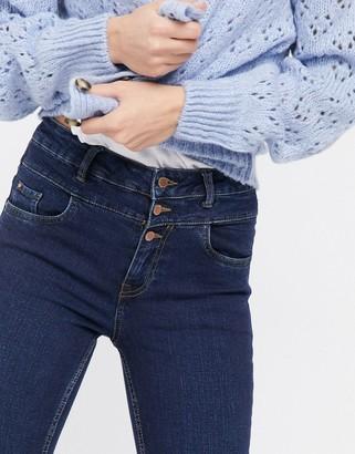 New Look skinny jeans in dark blue
