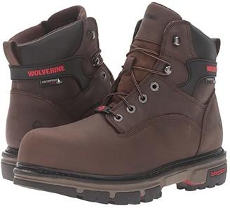 Wolverine Nation (Dark Brown) Men's Work Boots