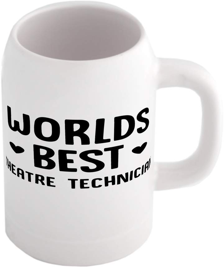 Fotomax Beer mug with World's best Theatre Technician