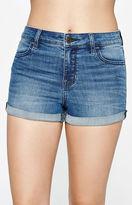 PacSun Phillip Blue High Rise Super Stretch Shorts
