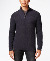 Vince Camuto Mixed-Knit Sweater