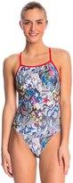 Speedo Graffiti USA Printed One Back One Piece Swimsuit 8136803