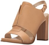Nine West Women's Poplock Leather Heeled Sandal