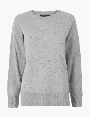 Marks and Spencer Pure Cashmere Relaxed Fit Jumper
