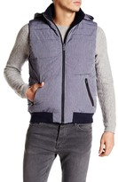 Original Penguin Reversible Fleece Lined Vest