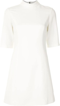 Alice + Olivia High Neck Mini Dress