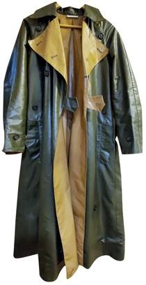 Celine Khaki Cotton Coat for Women