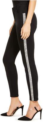 INC International Concepts Inc Shiny Side-Seam Skinny Jeans