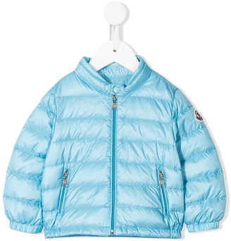 Moncler Enfant Logo Patch Padded Jacket