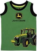 John Deere Baby Boy Tractor Tank Top