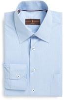 Robert Talbott Men's Classic Fit Micro Gingham Dress Shirt