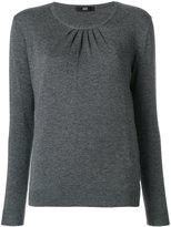 Steffen Schraut gathered sweater - women - Nylon/Polyester/Viscose/Cashmere - 36