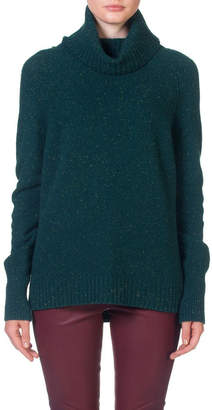 Skin and Threads Roll Neck Side Split Sweater