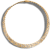 John Hardy Modern Chain 11MM Necklace in 18K Gold with Diamonds