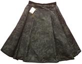 Louis Vuitton Silk mid-length skirt