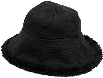 Vyner Articles Raw Edge Bucket Hat