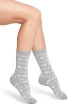 Ralph Lauren Women's Snowflake Stripe Boot Socks