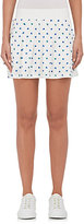 Tory Sport Women's Pleated Tech-Jersey Skirt