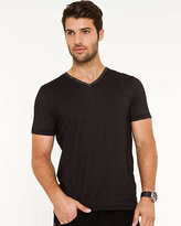 Le Château Cotton Blend V-Neck T-Shirt